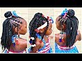 Download Video Download Crochet Hairstyles Installed Two Different Ways | Children's Natural Hair Care 3GP MP4 FLV