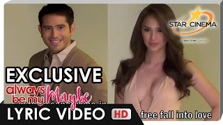 Lyric Video | 'Free Fall Into Love' by Marion Aunor feat. exclusive footage of Gerald & Arci