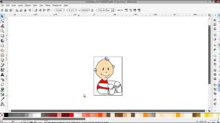 How to edit a vector / SVG image in inkscape - Free vector graphics editor