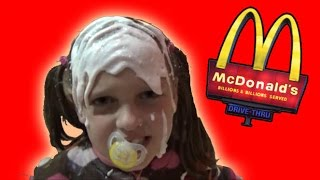 Bad Baby Real Food Fight Victoria vs Annabelle McDonald