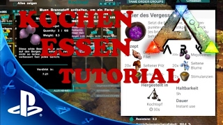 ARK PS4 KOCHEN / ALLE FREIEN REZEPTE - ENGRAMME ZURÜCKSETZEN - Ark Survival Evolved PS4 Deutsch