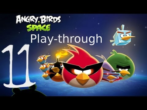 Let s Play Angry Birds Space 11 BReaK iT