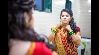 marathi wedding highlights 2018 purva & yatin (gorya gorya galavari) (man dhaga dhaga )