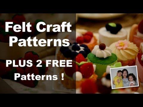 Felt Craft Step by Step Felt Craft Food Patterns from Felt Cuisine