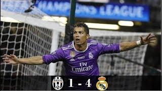 Juventus vs Real Madrid 1-4 All Goals & Full Highlights HD 04-06-2017