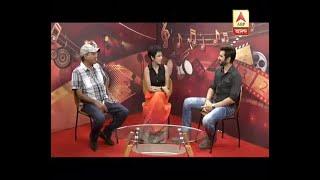 Watch: Actor Jeet in a chat show at ABP Ananda Studio on his upcoming film 'Boss 2'
