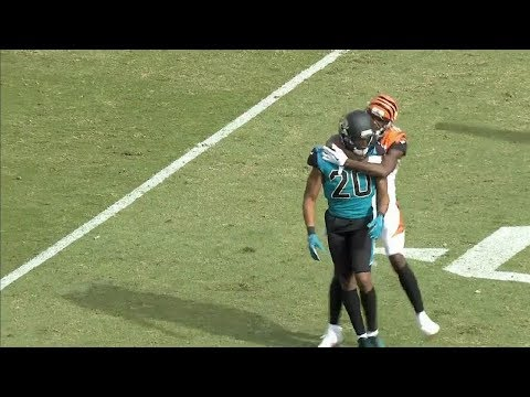 Xxx Mp4 AJ Green Vs Jalen Ramsey FIGHT With Punches Thrown Bengals Vs Jags NFL 3gp Sex