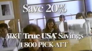 AT&T - 1990s - Anybody!? (Long Version)