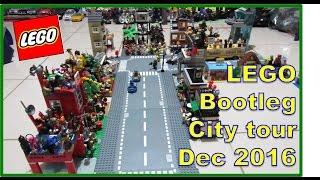 LEGO K.O. Land Tour December 31, 2016 ( Bootleg / Fake / Knock-off LEGO City )