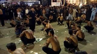 Zanjeer Zani on Azan e Ali Akbar in Karachi 2015