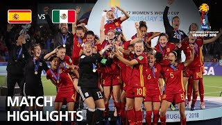 Spain v Mexico - FIFA U-17 Women's World Cup 2018™ - Final Match