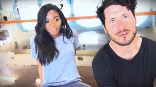 NORMANI & VAL | Facebook Live [Dancing with the Stars] - April 21, 2017