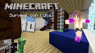 Decorando nuestra casa - Minecraft: Survival con Lyna #10