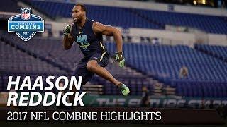 Haason Reddick (Temple, DL)   2017 NFL Combine Highlights