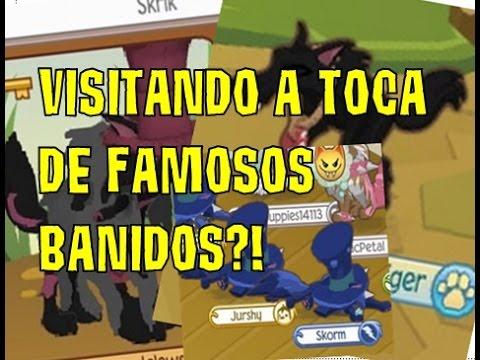 COMO VISITAR A TOCA DE FAMOSOS BANIDOS NO ANIMAL JAM SKORM