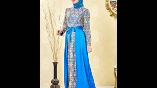 Nihan Giyim 2017 Tesettür Abiye Elbise Modelleri
