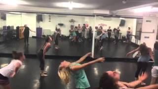 Ed Sheeran choreography by Sami Russell 7pm Tuesday class at DanceWorks