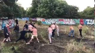 The First Arranged Fight In England: Millwall Vs. Brentford 25.08.2018
