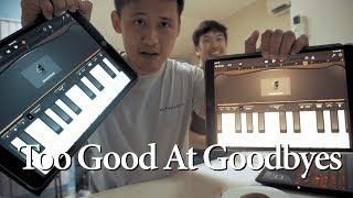Too Good At Goodbyes - Sam Smith | Ipad Cover | Tin Chu