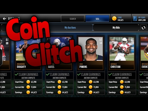 HUGE Coin Glitch Make Millions Madden Mobile 17