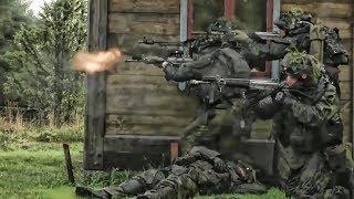 Swedish & Finnish Troops Team With U.S. Marines • Aurora 17