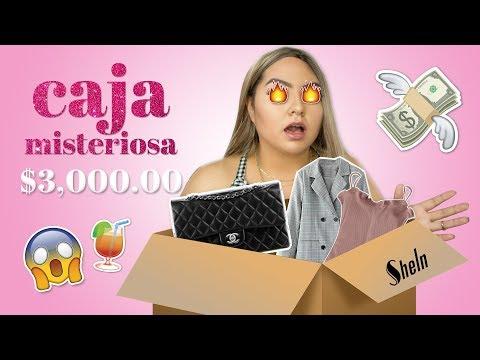 ABRIENDO CAJA MISTERIOSA DE $3,000.00 (SHEIN) | Fernanda