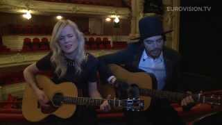 Video snack: The Common Linnets - Calm After The storm acoustic version