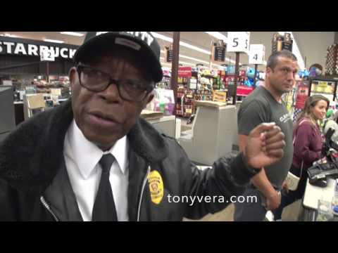 Ralphs racist security guard profiles tony vera as a shoplifter in venice
