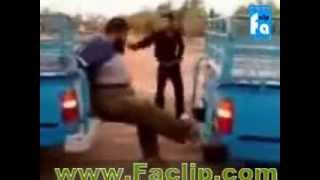 Iran Funny video(strong man)
