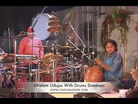 Ghatam Giridhar Udupa With Drums Sivamani