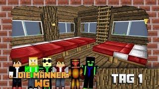 Minecraft Männer-WG Tag 1 (Männerkuscheln)