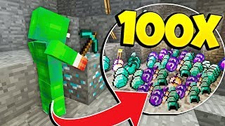 HOW TO GET 100x LOOT IN MINECRAFT!
