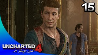 UNCHARTED 4: A Thief's End Walkthrough Part 15 · Ch.15: Thieves of Libertalia (100% Collectibles)