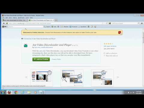 Xxx Mp4 How To Download And Use Ant Video Downloader Add On For Firefox 3gp Sex