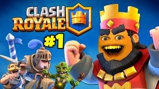 Annoying Orange Plays - CLASH ROYALE #1: Skeleton Rave Party!