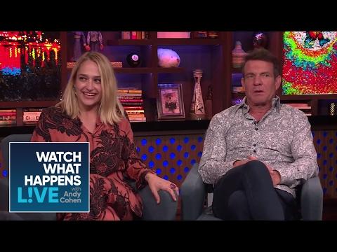 Jemima Kirke And Dennis Quaid On Sex Scene Boners WWHL