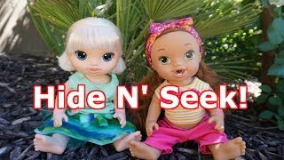 BABY ALIVE Plays Hide N' Seek! Baby Alive Videos