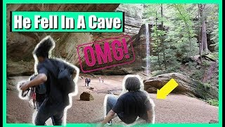 Jay Fell In A Cave | Family Vlogs | JaVlogs