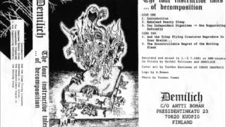 Demilich-The IV Instructive Tales......Of Decomposition