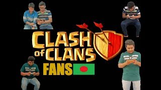 Crazy Clash of Clans fans in Bangladesh.