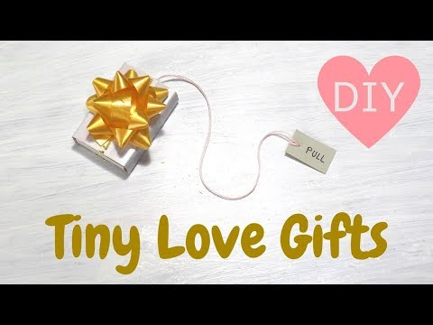 Xxx Mp4 DIY Tiny Love Gifts Surprise Gifts For Boyfriend Or Girlfriend Last Minute Present Ideas 3gp Sex