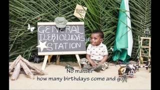 Ilerioluwa's first birthday