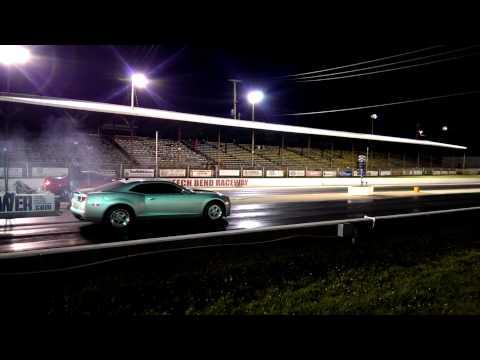 2010 Camaro SS Night fury cam 1/4 Mile