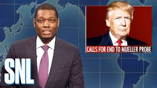 Weekend Update: Trump Calls for End to Mueller Probe - SNL