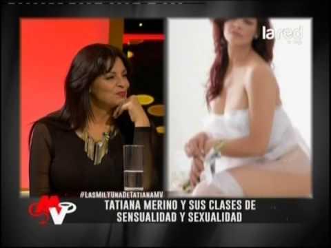Tatiana Merino y sus clases de sensualidad y sexualidad