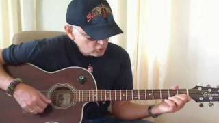 Lady Jane, Rolling Stones, Cover& Guit-lesson by Roger and his Takamine