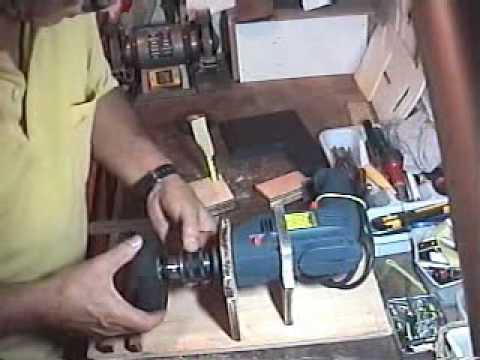 Ferramenta caseira para fabricar rodas de aeromodelos tool to make model aircraft wheels .wmv