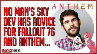 Sean Murray Tells Anthem And Fallouts 76 To STFU And Fix Their Game (LOL)