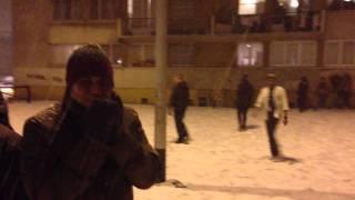 bangla natok football in snowing