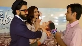 Ranveer Singh And Vaani Kapoor Speak About SIZZLING CHEMISTRY | Exclussive